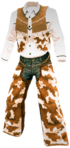 Dead rising White Cowboy Outfit