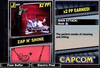 Dead rising 2 combo card Zap N' Shine