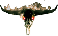 Dead rising Burning Skull
