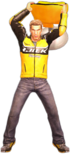Dead rising yellow tall chair alternate
