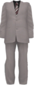 Dead rising White Business Suit and Striped Tie