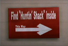 Dead rising find huntin shack inside sign