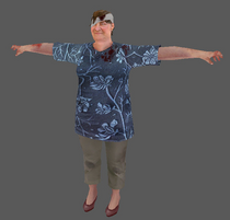 Kathy Peterson - Modelo de personaje