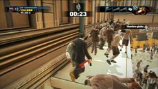 Dead rising 2 off the record zombies above players
