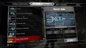 Electric Rake Blueprints 2