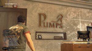 Pumps Sign
