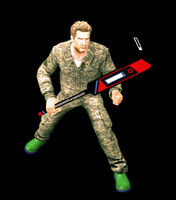 Dead rising hockey stick ready (7)
