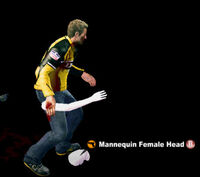 Dead rising mannequin female head name