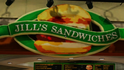 Jill's Sandwiches PP Sticker