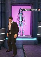 Dead rising URANUS ZONE space helmet jump space 7 NAME