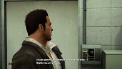Dead rising case barnaby and jessie talk close door