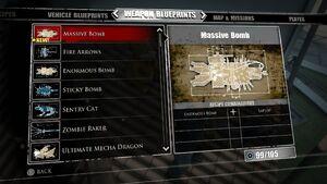 Massive Bomb Blueprints