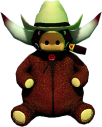 Dead rising Giant Stuffed Bull