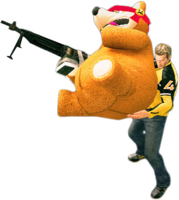 Dead rising freedom bear holding