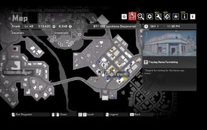 Freytag Furnishing Zombie Tag Map