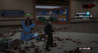 Dead rising hanging around ervin on stuffed animal