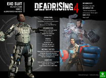 EXO Suit resume - Dead Rising 4