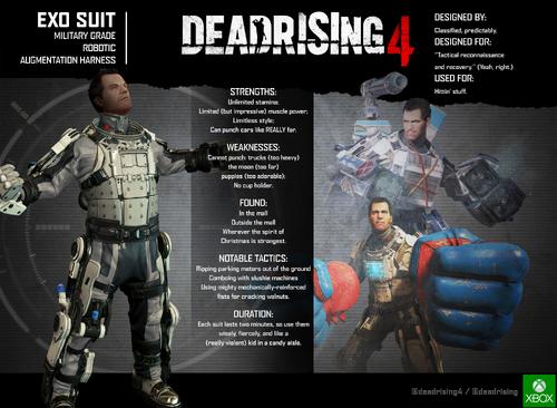 EXO Suit resume - Dead Rising 4