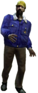 Dead rising zombies construction worker