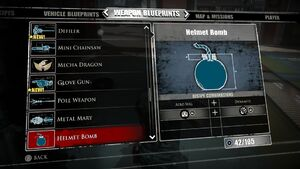 Helmet Bomb Blueprints