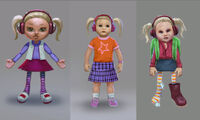 Dead rising 2 Off the Record concept art from main menu art page chuck as psycho doll
