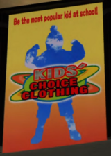 Kids' Choice Clothing Ad