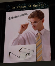 Universe of Optics Ad