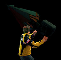Dead rising parablower throwing