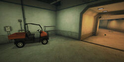 Dead rising secret lab entrance orange 4 x4
