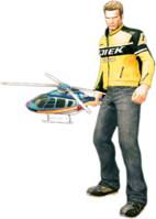 Dead rising toy helicopter holding