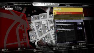 Shavey's Garage Frank Statue Map