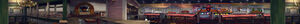 Dead rising PANORAMA food court atop sign F101 fast food COMPLETE