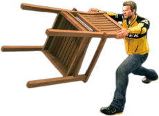 Dead rising patio chair main