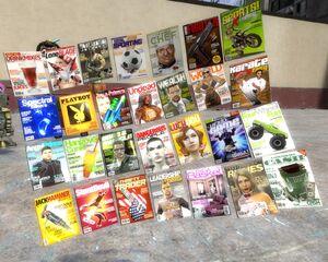 All magazine props