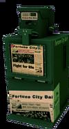 Dead rising Newspaper Box green
