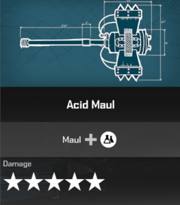 Acid Maul Blueprint 2