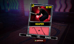 Dead rising reaper combo card acquired after defeating twins