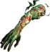Dead rising zombie explodable arm right