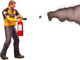Dead rising fire extinguisher main