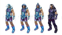 Dead rising 2 Off the Record concept art from main menu art page clothing space suit