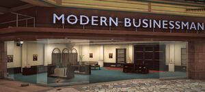 Dead rising Modern Businessman