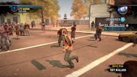 Dead Rising Quick Step running