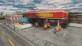 Tornado Gas Station (Dead Rising)