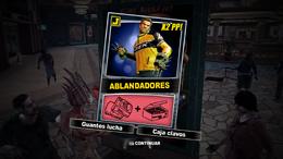 Dead Rising 2 - Ablandadores - Carta Combo Recompensa