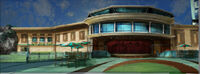 Dead rising 2 Off the Record concept art from main menu art page OTR BUILDING