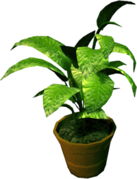 Dead rising Small Potted Plant
