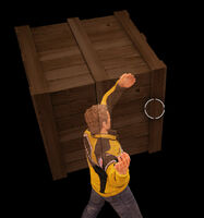 Dead rising crate throwing