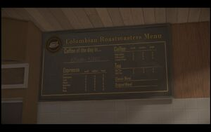 Colombian Menu