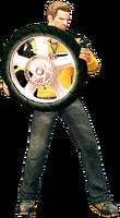 Dead rising wheel holding