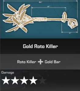 Gold Roto Killer Blueprint